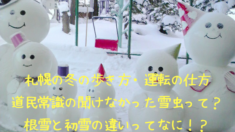 札幌の冬はいつから?吹雪や行き道の歩き方と運転方法の注意点総まとめ